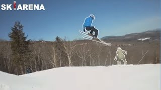 SNOWBOARDERS vs SKIERS #2 fights, crashes and angry people