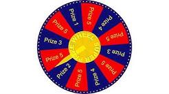 Spinning Prize Wheel Sound Effect
