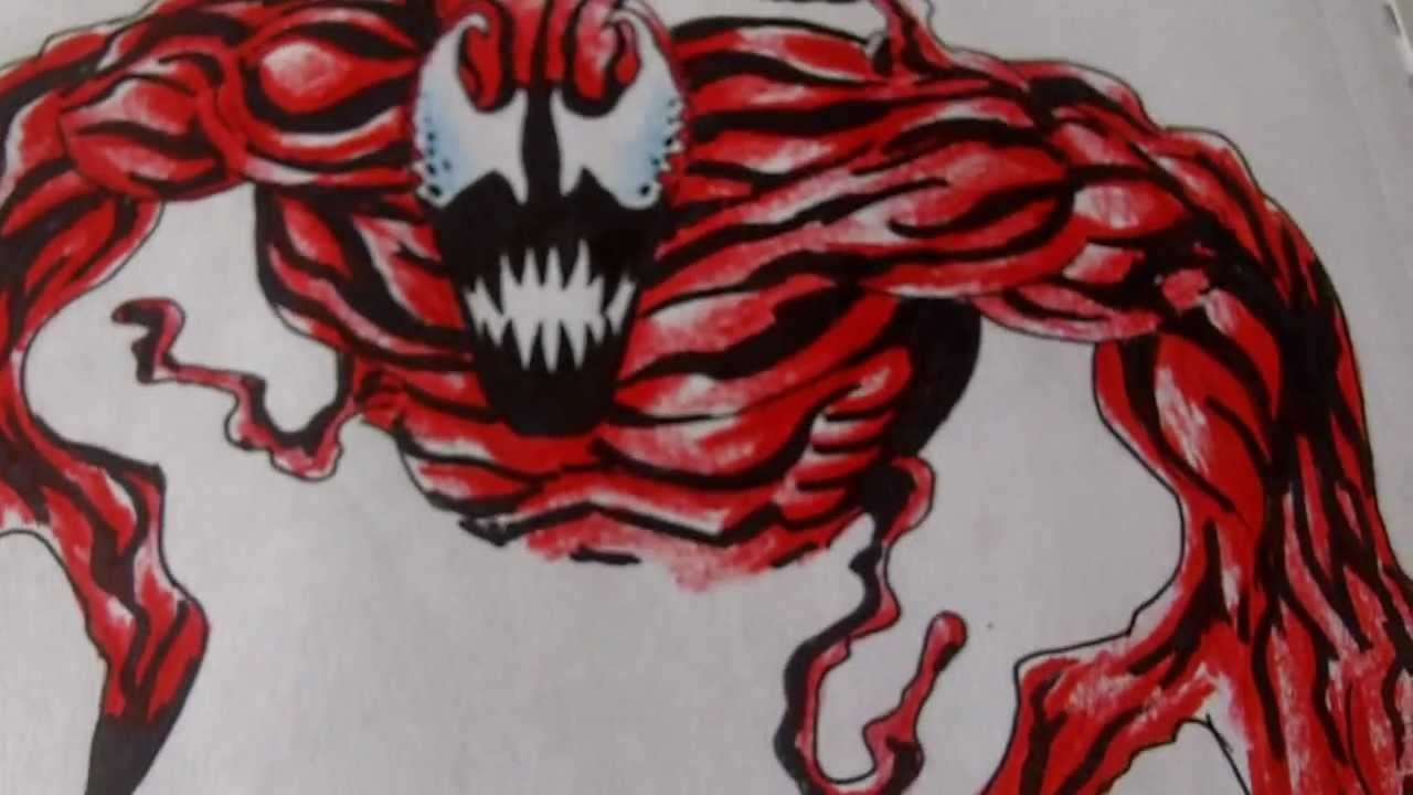 coloring carnage with crayola youtube