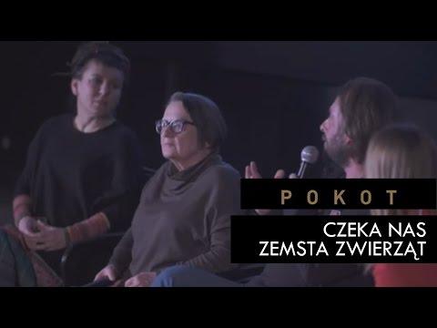 """Dyskusja Holland, Tokarczuk, Wajrak, Kruczyński """"Czy czeka nas zemsta zwierząt?"""""""
