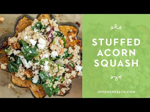 Beyond Hamburger and Quinoa Stuffed Delicata Squash