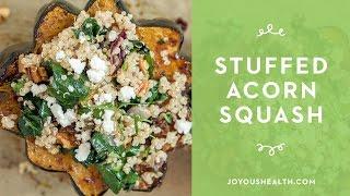 How to make Quinoa stuffed Acorn Squash