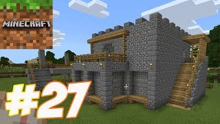 Minecraft - Gameplay Walkthrough Part 27 - Survival New House (iOS, Android, PC)