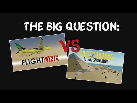 FLIGHTLINE VS PILOT TRAINING FLIGHT SIMULATOR ROBLOX
