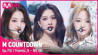 [fromis_9 - WE GO] Comeback Stage | #엠카운트다운 | Mnet 210520 방송