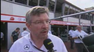 Formula One 2010: Brawn defends Schumacher's overtake of Alonso at the Monaco GP