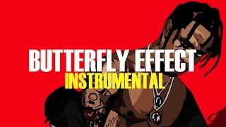 Travis Scott - Butterfly Effect (Instrumental) (ReProd. B.O Beatz)