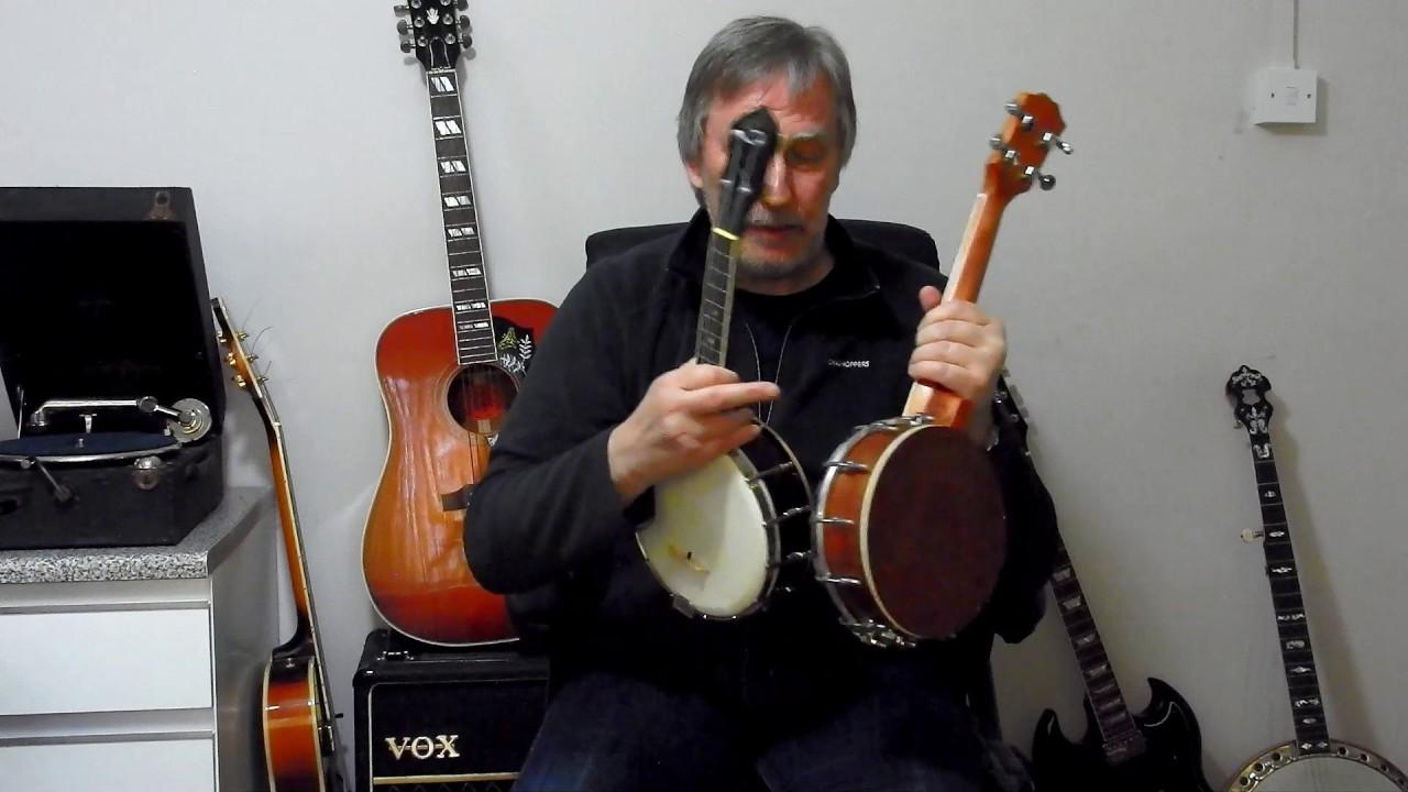 Kmise Ukulele Banjo Banjolele Review Comparison with Gibson UB-2