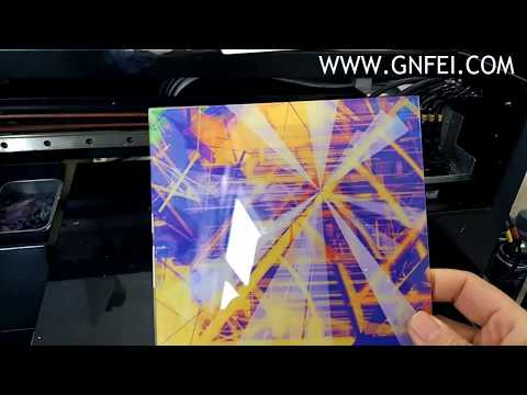 A4 Size LED UV Flatbed Printer Acrylic Printer