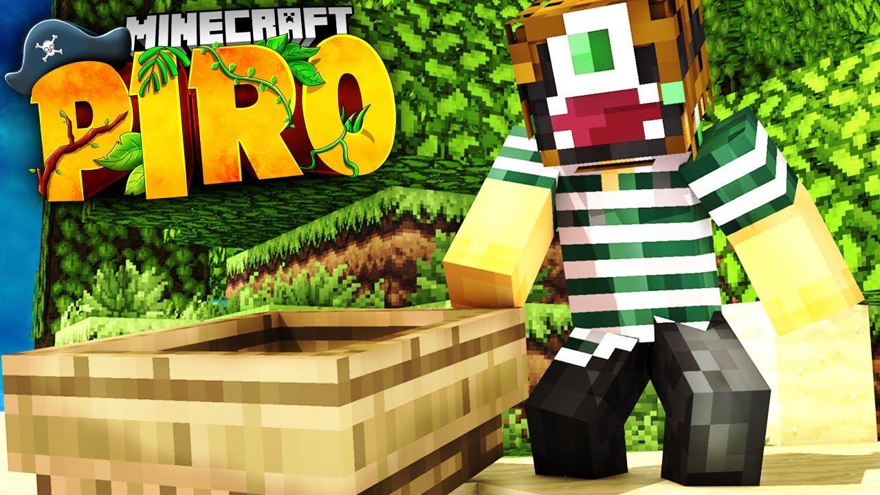 ALLEINE AUF EINER INSEL! Minecraft PIRO #01