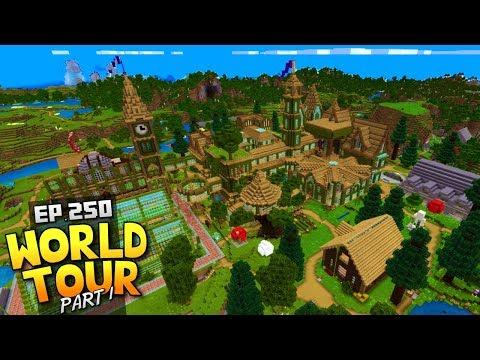 My Minecraft Survival World Tour! - Ep.250 : Part 1 + Download