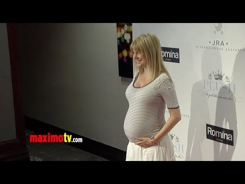 Kathryn Morris Preggo with Twins  2013 PLUSH : The Posh Little Urbanites
