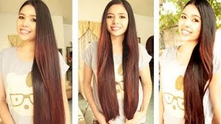 How I Apply The Coconut Milk Oil Treatment, Results, Scalp Massage and Hair Brushing Sessions