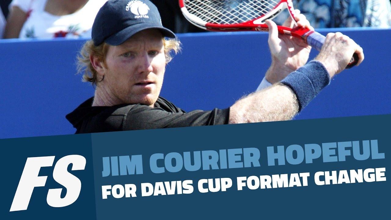 Jim Courier Hopeful For Davis Cup Format Change
