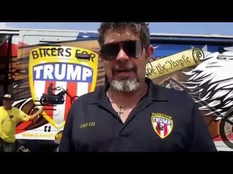 Chris Cox Bikers for Trump Sturgis Rally 2017