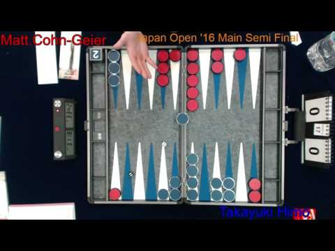 22nd Japan Open (Backgammon Festival 2016)