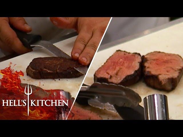 Two Chefs Trick Chef Scott | Hell\'s Kitchen