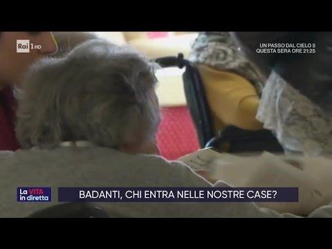 Il paese delle badanti, truffe e bontà - La vita in diretta 17/10/2019