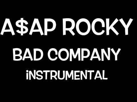 ASAP ROCKY Ft. Blocboy JB - Bad Company (INSTRUMENTAL)