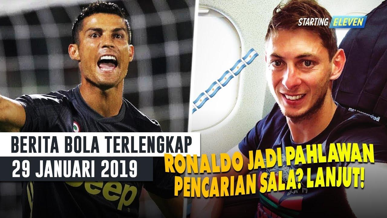Lagi Ronaldo Jadi Penyelamat Juve Pencarian Emiliano Sala