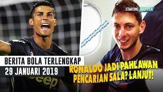 LAGI! Ronaldo Jadi Penyelamat Juve - Pencarian Emiliano Sala Dilanjutkan (Berita Bola Terlengkap)