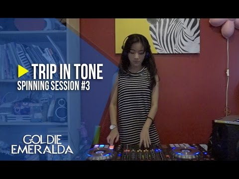 Spinning Session #3 | Goldie Emeralda