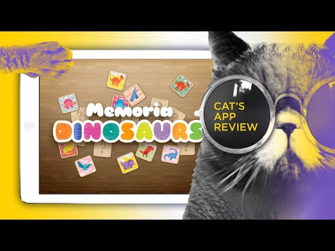 iPad educational game for kids - Mini-U: Dinosaurs gameplay overview