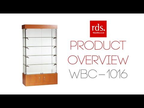 WBC-1016 Wooden Trophy Cabinet