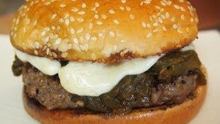 Green Chile Cheeseburger Recipe!