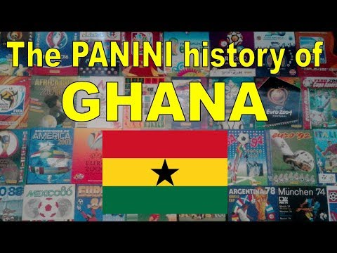 The Panini history of Ghana (Men's Soccer Team)