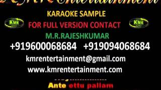 AA ANTE AMALAPURAM - ARYA (VIDEO KARAOKE) TELUGU VIDEO KARAOKE BY KMR ENTERTAINMENT