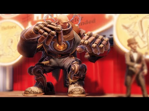 BioShock Infinite Gameplay - E02 Well Look At You, You're A Big Fella