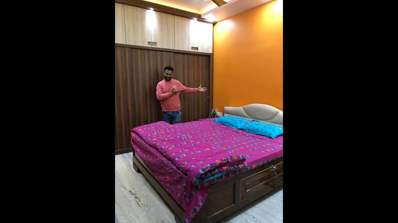 Bedroom Makeover 2019 12 X 10 Bedroom Design Video In Hindi Youtube
