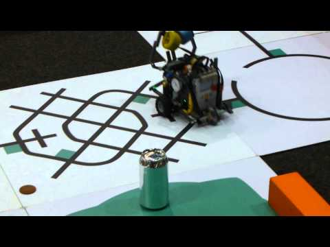 Line squaring an fll robot w color sensors part 3 of 3 funnycat