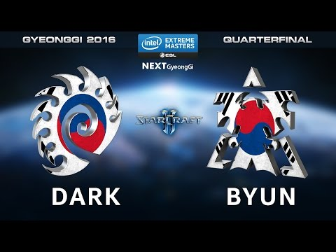 StarCraft 2 - Dark vs. ByuN [ZvT] - Quarterfinals Map 1 - IEM Gyeonggi 2016