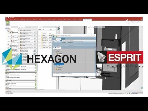 CAD/CAM Interface | ESPRIT TNG | NCSIMUL