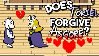 Does Toriel Forgive Asgore at The End of UNDERTALE? Undertale Theory   UNDERLAB