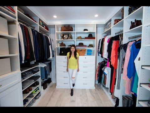 Before After Custom Closet Makeover