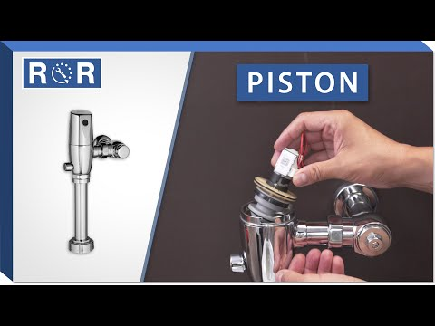 American Standard Selectronic Flushometer | Piston | Repair And Replace