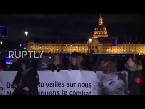 France: Rally in Paris denounces suicide rate among police officers