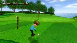 Wii Sports - Golf Expert- Best Games For Kids - Happy Kids Games And Tv - 1080p
