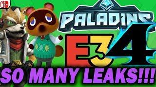 SO MANY LEAKS!!! Nintendo E3 Leak Roundup! (RTE3 #5)