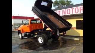 1991 GMC Topkick C4500 Dump Truck For Sale