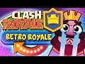 RETRO ROYALE Challenge 6 Wins with Radical Deck | Clash Royale
