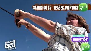 TEASER : Carole Rousseau, une aventurière SAFARI GO ! La saison 2, c'est bientôt sur Gulli !