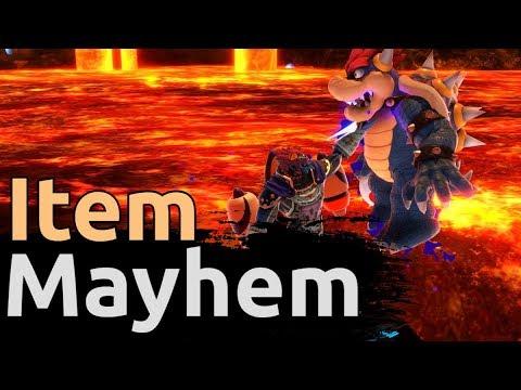 ITEM MAYHEM | A PKBeats Item Combo Montage -- Super Smash Bros Ultimate thumbnail