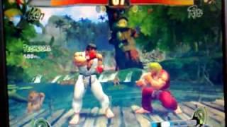 Street Fighter 4 on XFX Geforce 6800 Xtreme