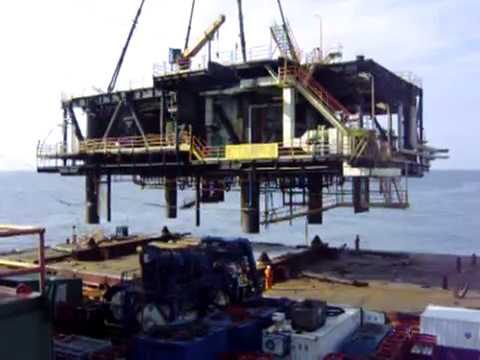 Topside Removal - Decommissioning