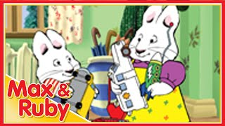 Max & Ruby: Max Misses the Bus / Max's Wormcake / Max's Rainy Day - Ep. 3