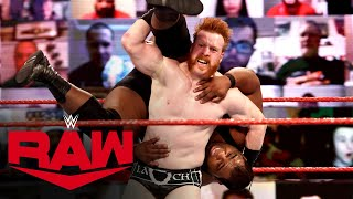 Keith Lee vs. Sheamus – Winner earns a WWE Title opportunity: Raw, Dec. 28, 2020